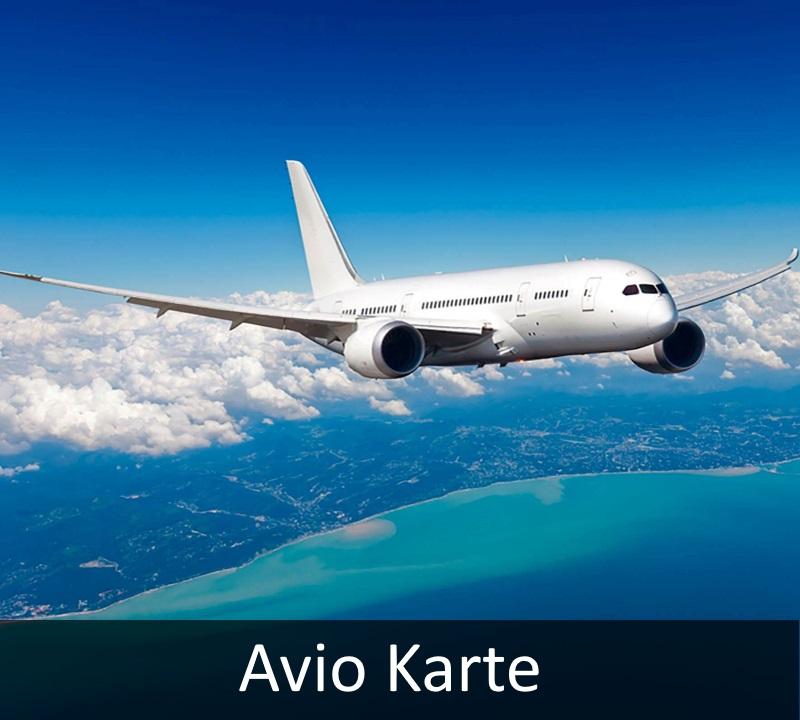 Avio Karte